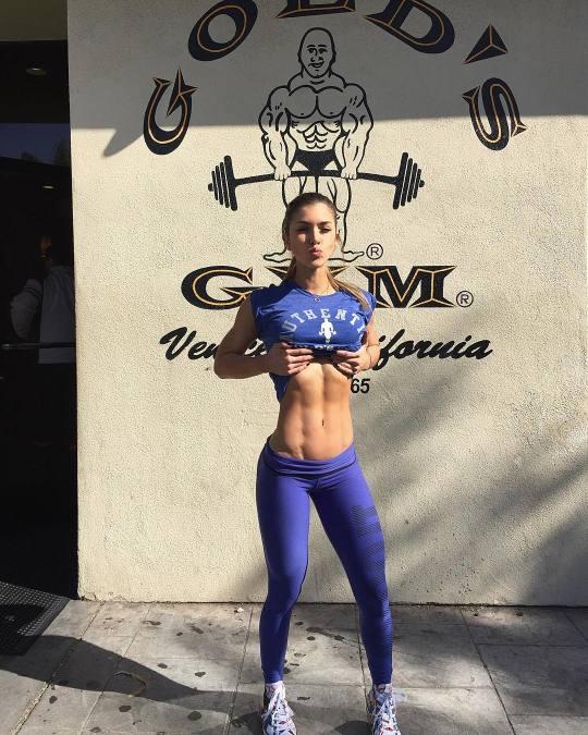 Motivación Para El Gym Con Las Mujeres Más Fit El124