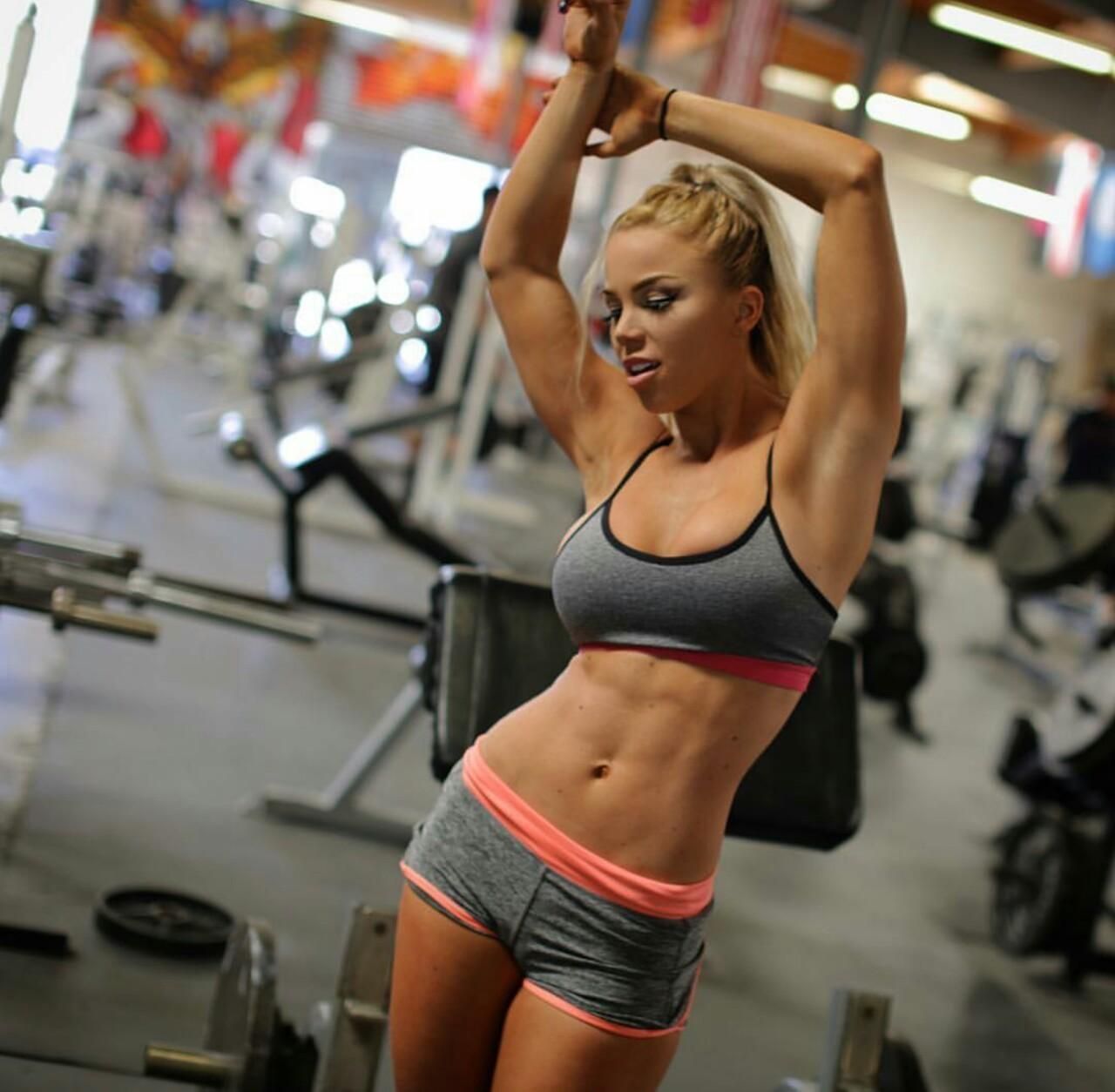 Motivación para el gym con las mujeres más fit