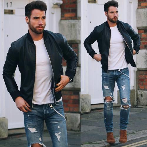 270892627 Moda invernal casual para hombres   Moda masculina