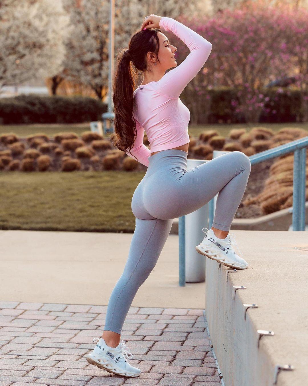 Inspiración para ir al ejercicio con las chicas del